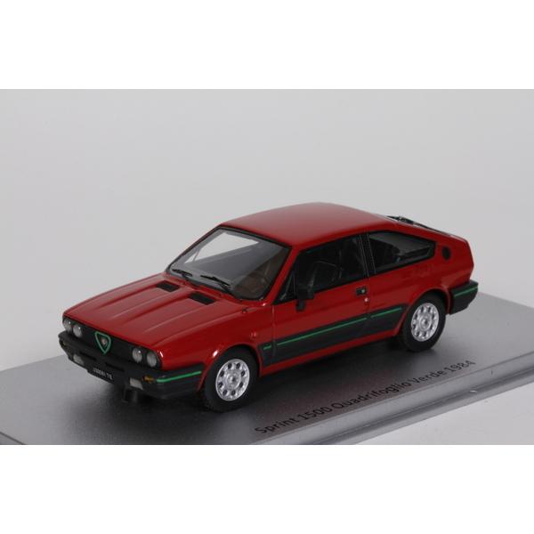 1/43 アルファロメオ Sprint 1500 Quadrifoglio Verde 1984 (レッド)