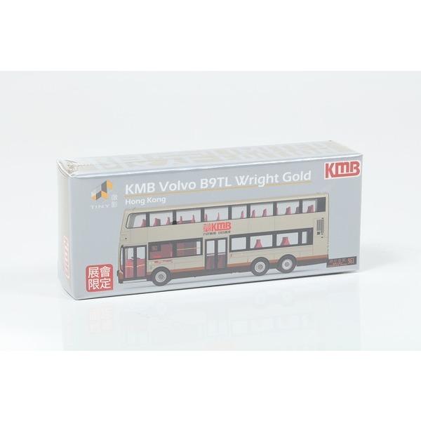 【TINY】 KMB(九龍モーターバス) Volvo B9TL ライトゴールド