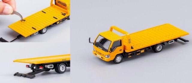 GCD 1/64 ISUZU N シリーズ レッカー車 イエロー (LHD)