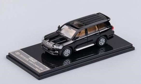 GCD 1/64 トヨタ ランドクルーザー 200 ブラック