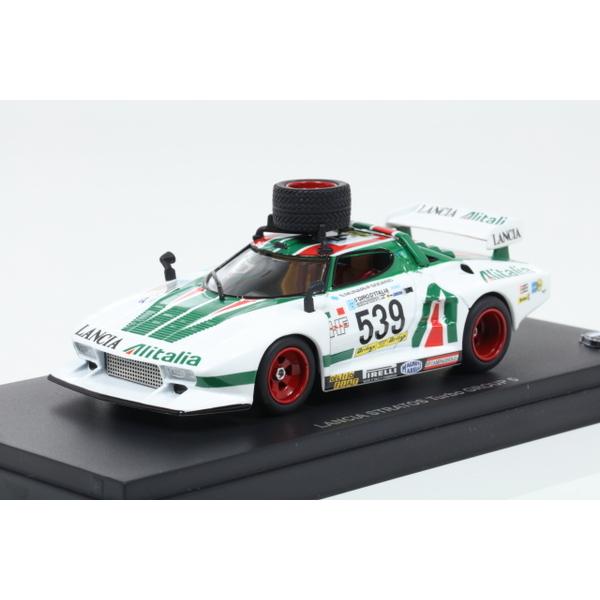 """【Kyosho】 1/43 Lancia STRATOS Turbo Group5 1977 Giro d'Italia No.539 """"with spare tire"""""""