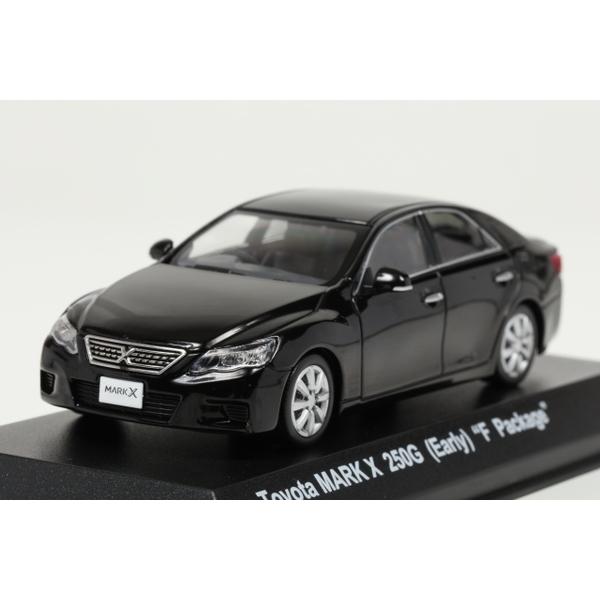 """<セール> Kyosho 1/43 Toyota MARK X 250G (Early) """"F Package"""" Black"""