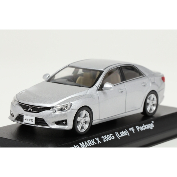"<セール> Kyosho 1/43 Toyota MARK X 250G (Late) ""F Package"" Silver"