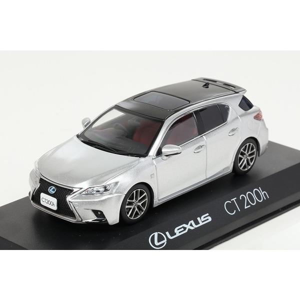 【Kyosho】 1/43 Lexus CT200h F Sport (プラチナムシルバーメタリック)