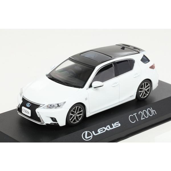 【Kyosho】 1/43 Lexus CT200h F Sport (ホワイトノーヴァガラスフレーク)