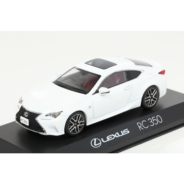 【Kyosho】 1/43 Lexus RC350 F Sport (ホワイトノーヴェガラスフレーク)