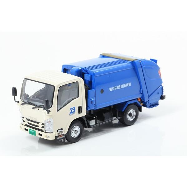 【Kyosho】1/43 いすゞ エルフ 清掃車 (東京23区)