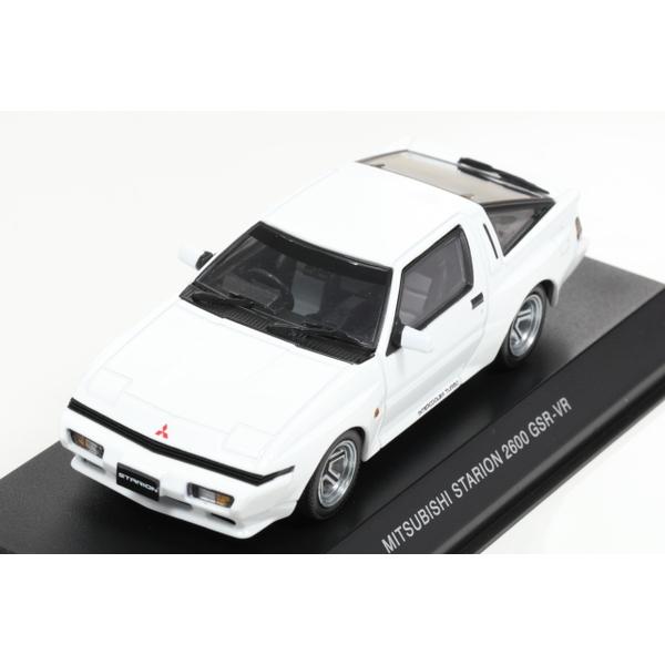 【Kyosho】 1/43 三菱 スタリオン 2600 GSR-VR (ソフィアホワイト)