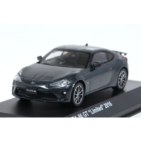 <セール> Kyosho 1/43 TOYOTA 86 GT Limited 2016 Dark Grey Metallic