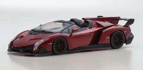 <セール> Kyosho 1/43 Lamborghini Veneno Roadster (Red Metallic/Red Line)