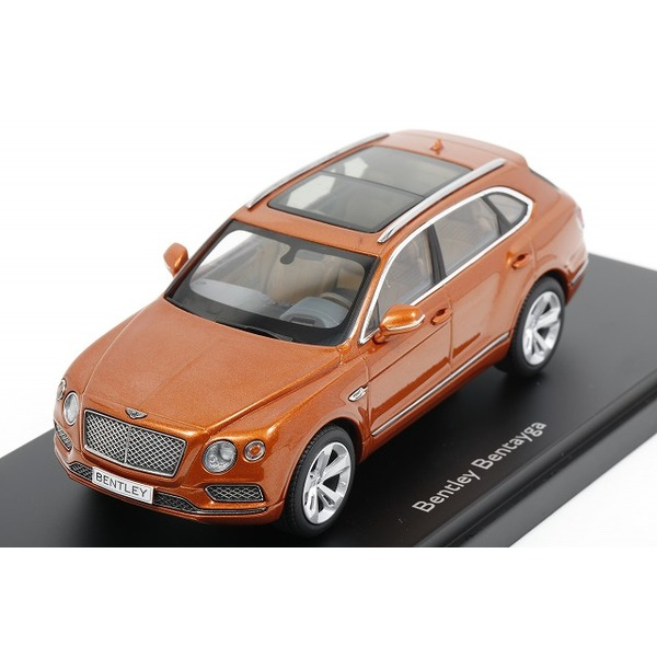 【Kyosho】 1/43 Bentley Bentayga - Bentayga Orange Flame (Orange Metallic)