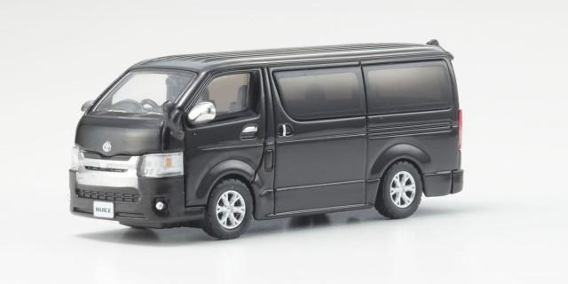 Kyosho 1/64 トヨタ ハイエース 2014 Black