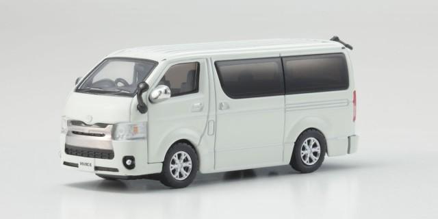 Kyosho 1/64 トヨタ ハイエース 2014 White