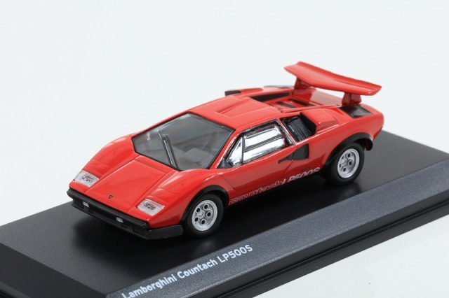 Kyosho 1/64 Lamborghini Countach LP500S Red ※ブンカ特注モデル