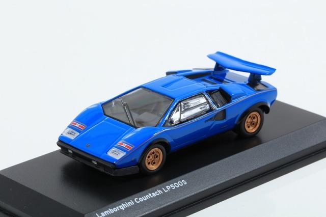 Kyosho 1/64 Lamborghini Countach LP500S Blue ※ブンカ特注モデル