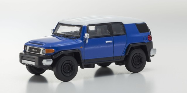 Kyosho 1/64 トヨタ FJ クルーザー Blue