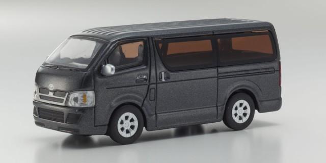Kyosho 1/64 トヨタ ハイエース Gray metallic
