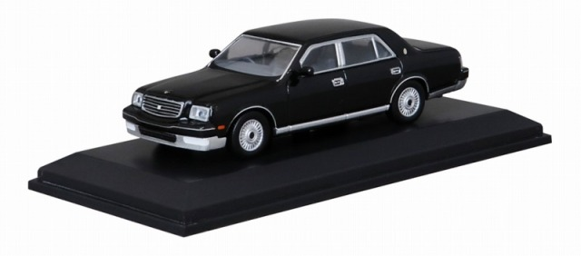 Kyosho 1/64 トヨタ センチュリー ブラック 宮沢模型流通限定