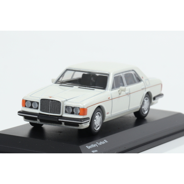 【Kyosho】 1/64 Bentley Turbo R White