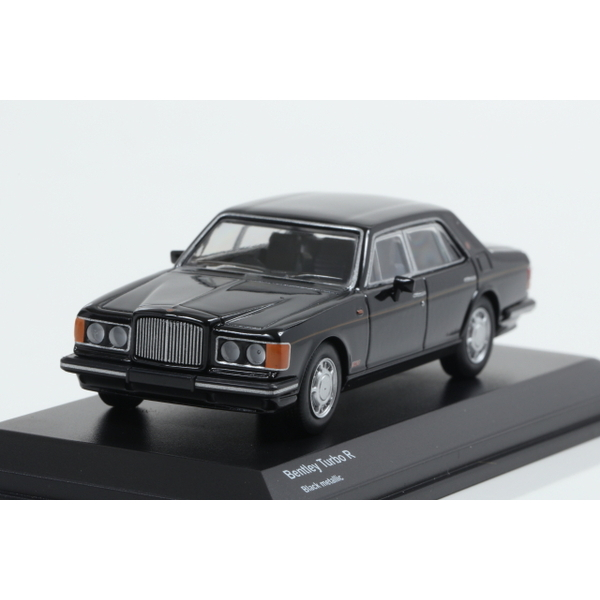 【Kyosho】 1/64 Bentley Turbo R Black metallic