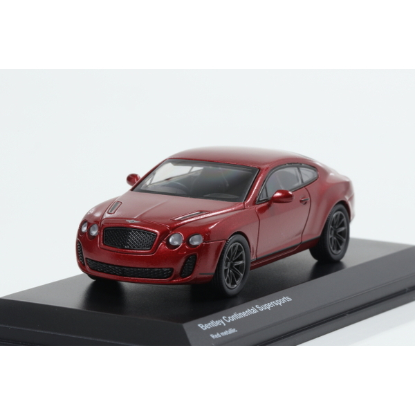 【Kyosho】 1/64 Bentley Continental Supersports Red metallic