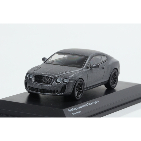 【Kyosho】 1/64 Bentley Continental Supersports Gray metallic