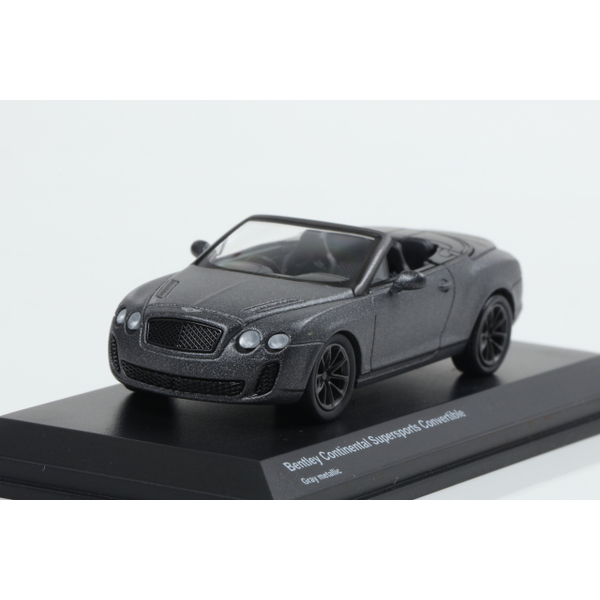 【Kyosho】 1/64 Bentley Continental Supersports Convertible Gray metallic
