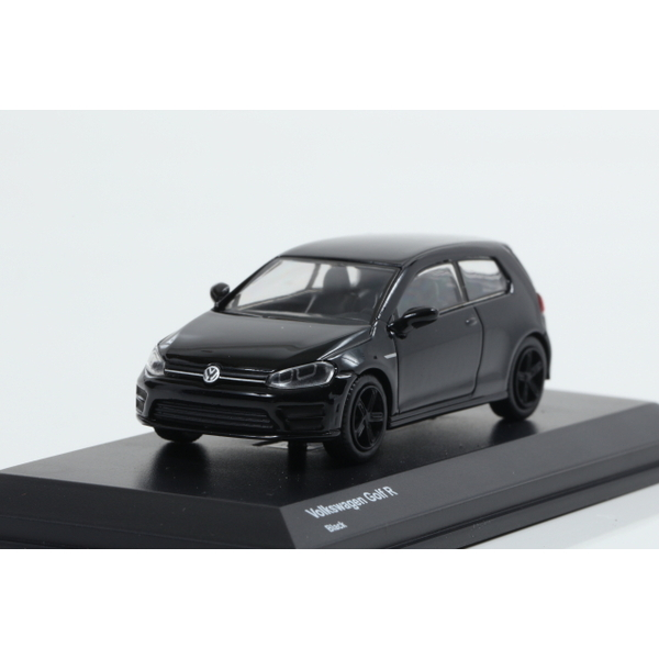 【Kyosho】 1/64 Volkswagen Golf R Black