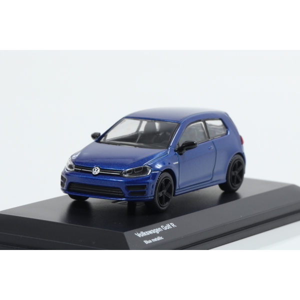 【Kyosho】 1/64 Volkswagen Golf R Blue metallic