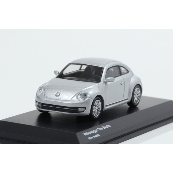 【Kyosho】 1/64 Volkswagen The Beetle Silver metallic