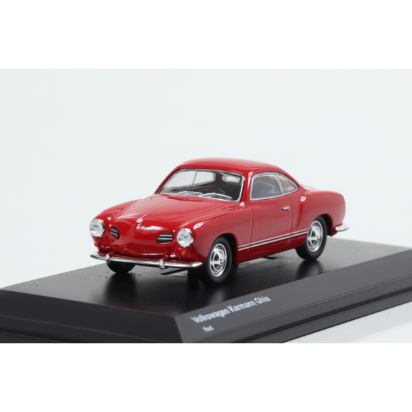 【Kyosho】 1/64 Volkswagen Karmann Ghia Red