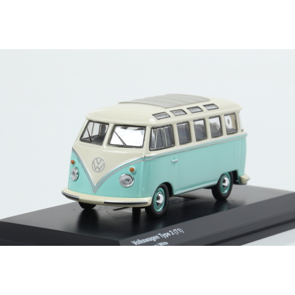 【Kyosho】 1/64 Volkswagen Type 2 (T1) Light green / White