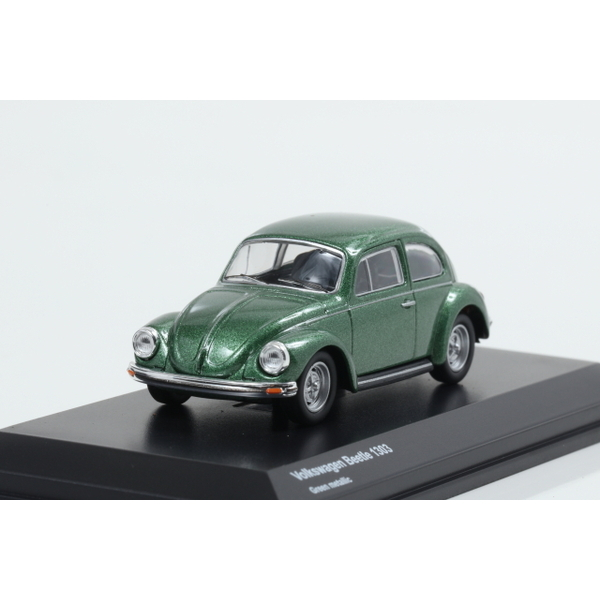 【Kyosho】 1/64 Volkswagen Beetle 1303 Green Metallic