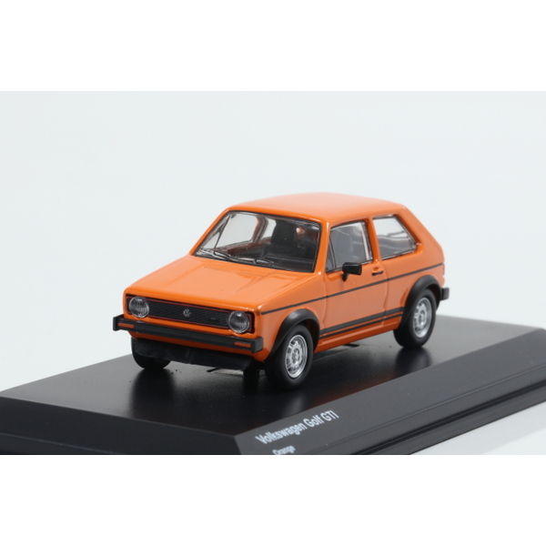 【Kyosho】 1/64 Volkswagen Golf GTI Orange