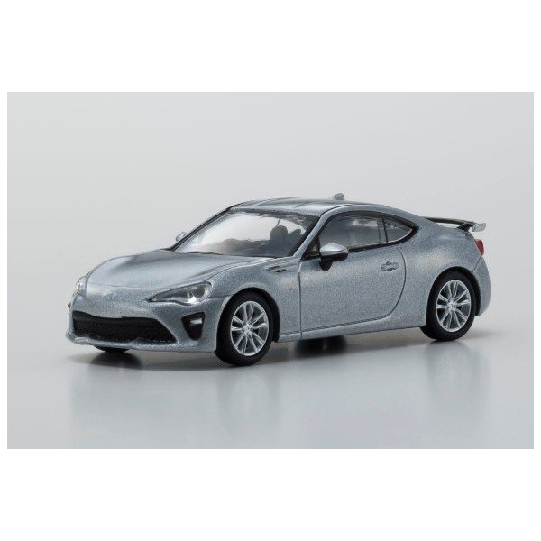 【Kyosho】 1/64 TOYOTA 86 GT Limited 2016 シルバー ※宮沢模型流通限定