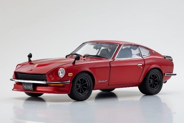 Kyosho 1/18 NISSAN Fairlady Z-L (S30)(Red metallic)