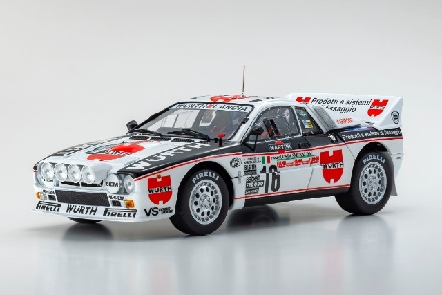 Kyosho 1/18 Lancia Rally 037 1983 Costa Smeralda # 16