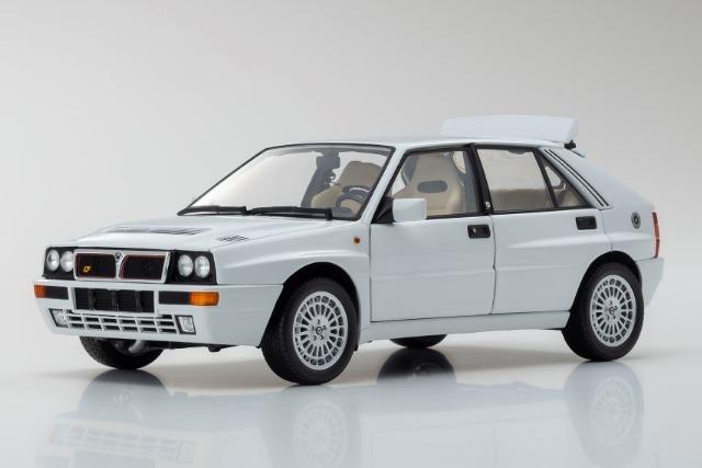 Kyosho 1/18 Lancia Delta Integrale Evolzione II White