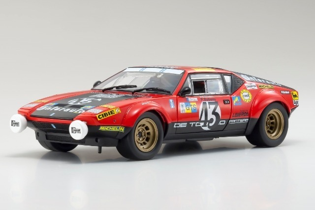Kyosho 1/18 De Tomaso Pantera GT4 1975 LM #43