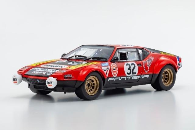 Kyosho 1/18 De Tomaso Pantera 1972 LM #32