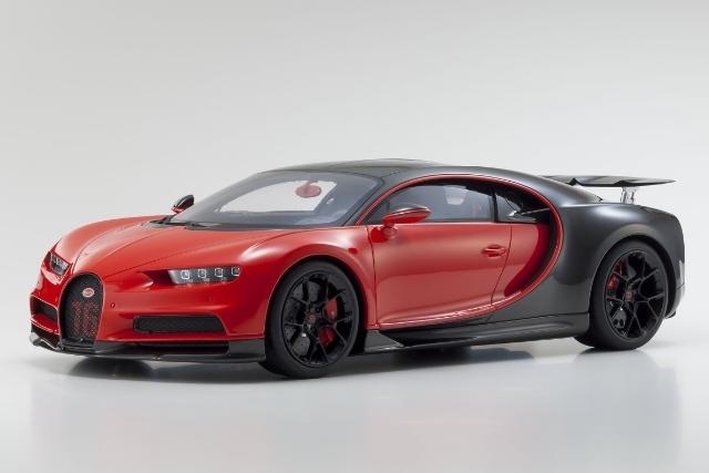<セール 12月21日まで> Kyosho 1/12 Bugatti Chiron Sport (Red / Black)
