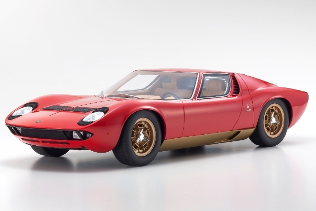 <セール 12月21日まで> Kyosho 1/12 Lamborghini Miura P400S (Red)