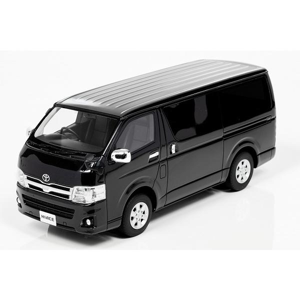 【Kyosho】 1/18 トヨタ ハイエース (ブラック) ※サムライシリーズ 限定400台