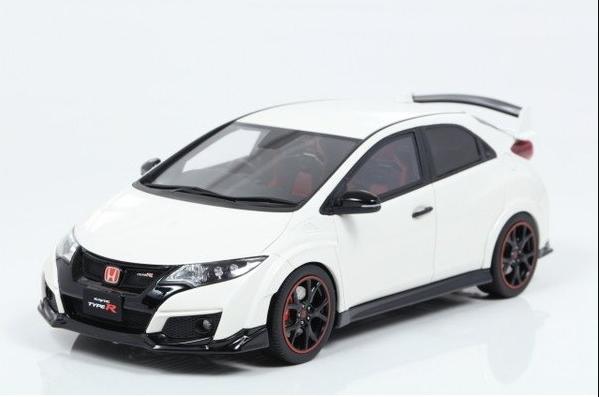 【Kyosho】 1/18 Honda Civic Type R (ホワイト) ※サムライ シリーズ 限定500台