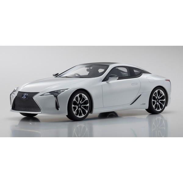 【Kyosho】 1/18 Lexus LC 500h White  ※サムライ シリーズ  限定400台