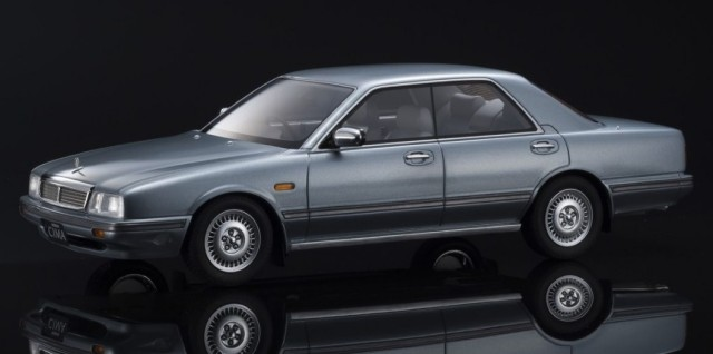 Kyosho 1/18 Nissan Cedric Cima Light blue 限定500台 ※サムライ シリーズ