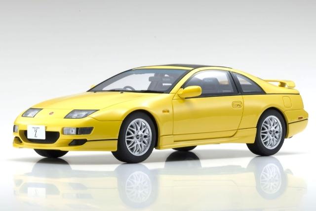 <セール 12月21日まで> Kyosho 1/18 Nissan Fairlady Z Z 32 (Yellow)