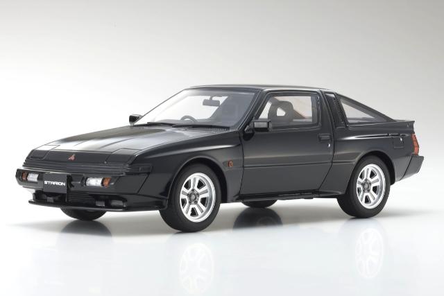 <セール 12月21日まで> Kyosho 1/18 Mitsubishi Starion GSR-VR (black)