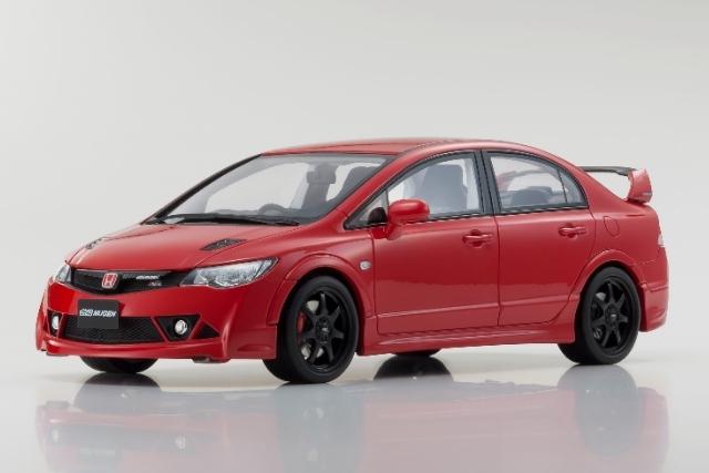 <セール 12月21日まで> Kyosho 1/18 Honda Civic Mugen RR (Red)