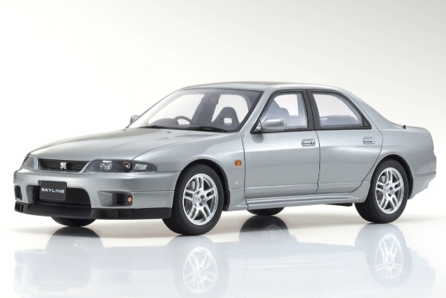 Samurai 1/18 日産 スカイライン GT-R オーテック バージョン (BCNR33) (シルバー) 限定700台